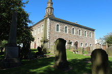 Irvine, Old Parish Church, Ayrshire © Billy McCrorie